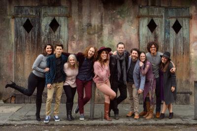 Full staff of Eye Wander Photo