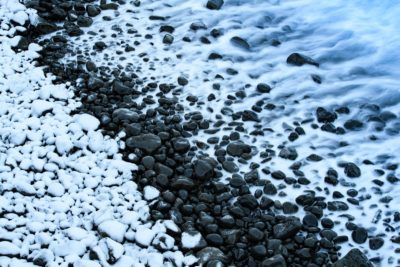 Travel Photography Iceland Ocean Black Rocks Aaron Hogan