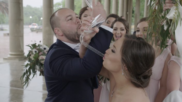 Client - Olivia & John Cornwell Wedding Feature Film, Location - Southern Oaks Plantation, New Orleans, Date - April 14, 2018