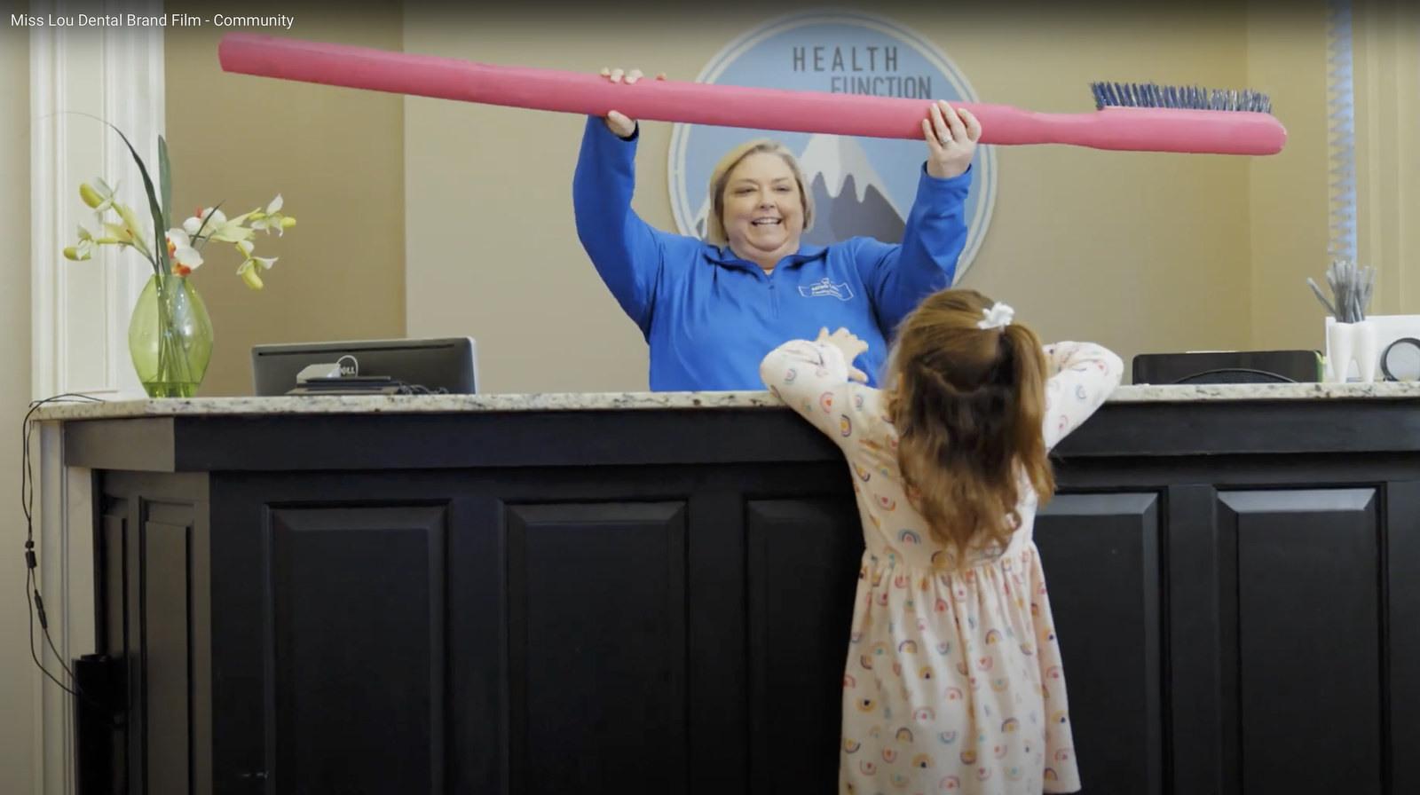 Client - Miss Lou Family Dentistry, Location - Natchez MS, Purpose - Marketing & Branding