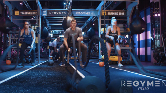 Client - Regymen Fitness Gym, Purpose - Hype Video