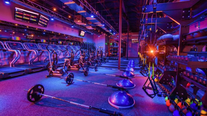 Client - Regymen Fitness Gym, Location - Bluebonnet Blvd. Baton Rouge, LA, Purpose - Studio Tour