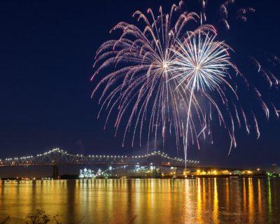 Fireworks Br Levee