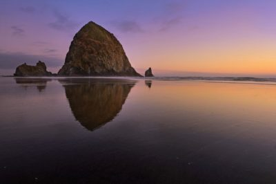 Travel Photography Cannon Beach Haystack Rock Oregon Aaron Hogan