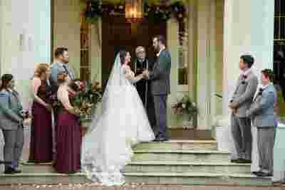 Best Professional Luxury Dream Wedding Photography Bride Groom on Steps at Houmas House Plantation Louisiana Photo 35
