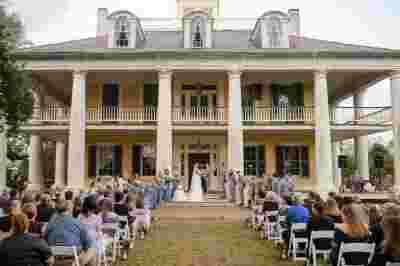Best Professional Luxury Dream Wedding Photography Bride Groom Aisle Outdoor Classic at Houmas House Plantation Photo 52