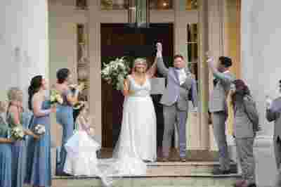 Best Professional Luxury Dream Wedding Photography Married Couple w Bridesmaids Groomsmen at Houmas House Plantation Louisiana Photo 74