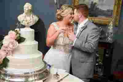 Best Professional Luxury Dream Wedding Cake Photography Bride Groom Toast at Houmas House Plantation Louisiana Photo  37