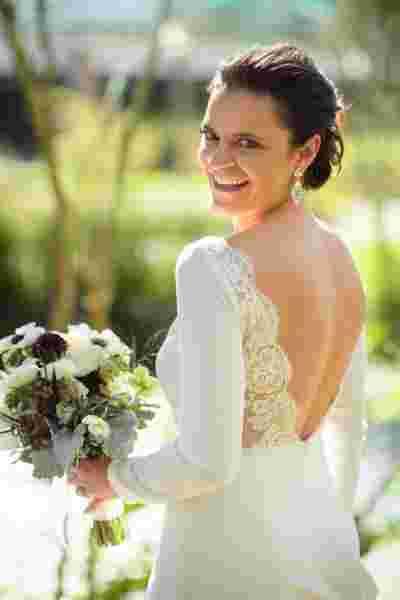 Best Professional Luxury Dream Wedding Photography Bride Bouquet Portrait at Houmas House Plantation Photo 82