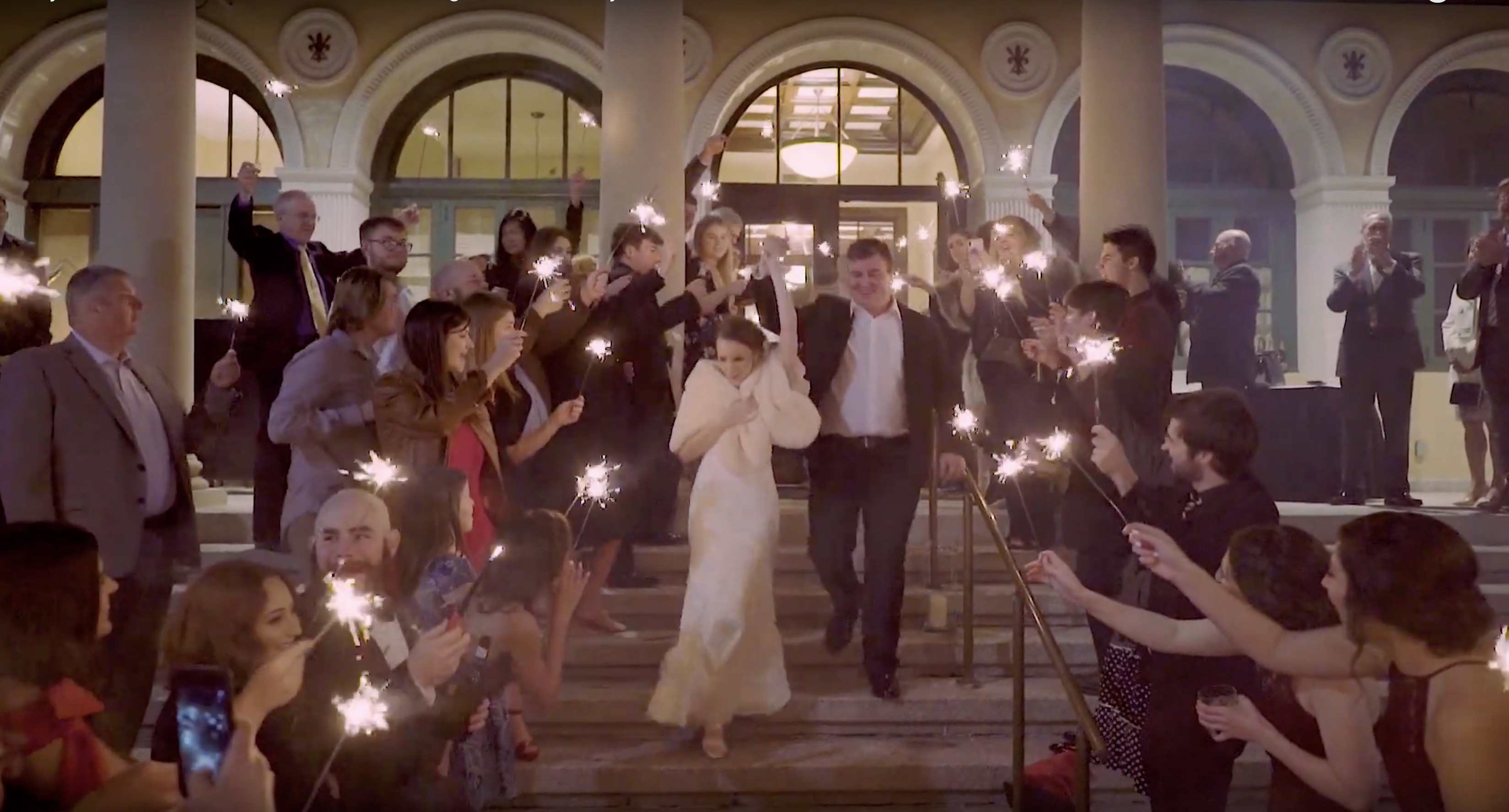 Client - Emily & Andrew McAlister Wedding Film, Location - St. George Catholic Church / City Club of Baton Rouge, Date - January 4, 2019